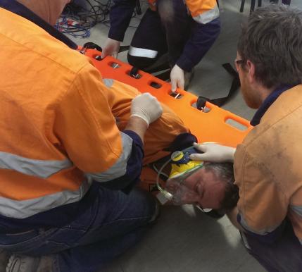 Emergency response team training day
